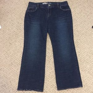 Old Navy Women's Plus Bootcut Jeans - Size 18